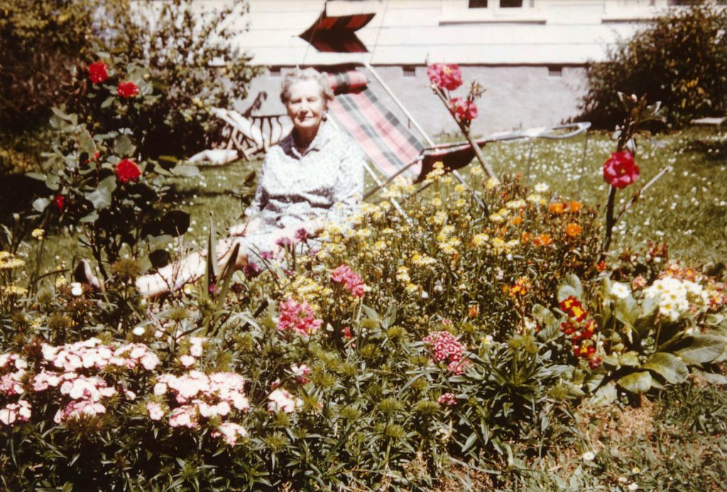 Katherine Janet Ward in Auckland 1972